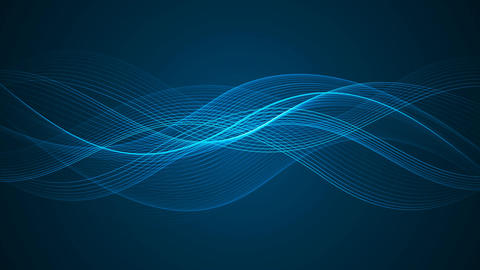 Abstract Looped Background | Wavy Lines | Full HD 2