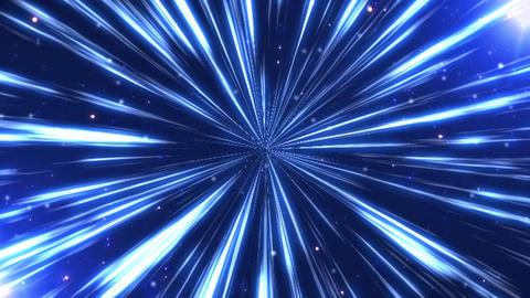 Radiation background CG ray blue CG動画