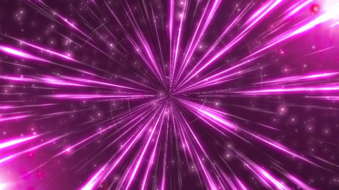 Radiation Background CG Ray Pink Animation