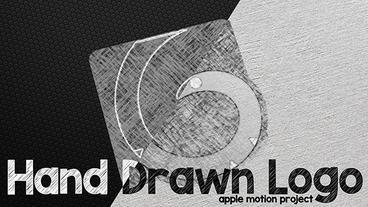 Hand Drawn Logo Plantilla de Apple Motion