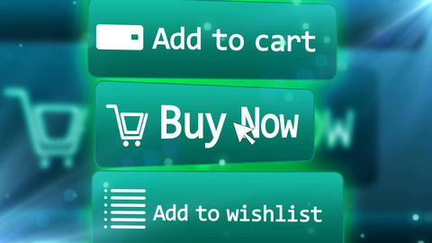 Web Internet Shopping concept Animation