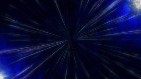 Radiation Background CG Light Blue Animation