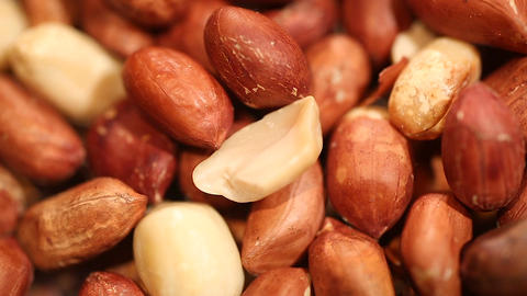 High-protein peanuts used to fight malnutrition in the world, famine relief food Footage