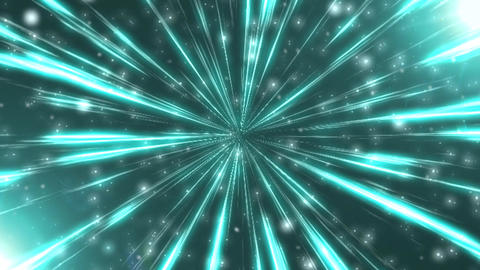 Radiation background CG blue Animation