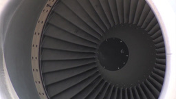 127th Wing KC-135 stratotanker close up of engine Footage
