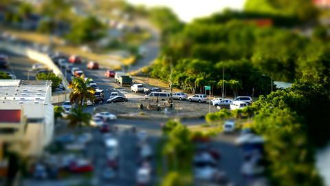 Sunny car timelaspe Footage