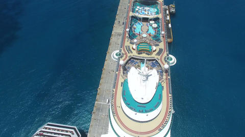 cruise view overhead Footage