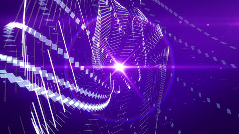 SHA Digital World ImageBG Violet Animation