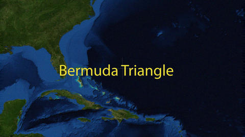 Bermuda Triangle navigation Image