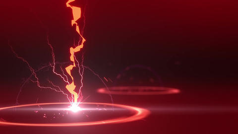 SHA Lightning BG Image Red Animation