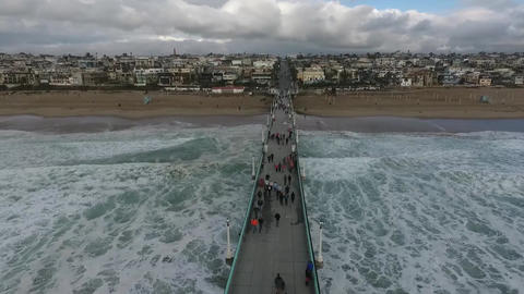 Manhattan Beach LA Footage