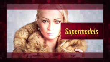 Red Fashion After Effects Template