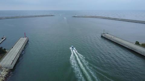 DJI MAVIC 4K Taiwan Tainan Aerial Drone Video Anping Sicao Bridge 20170324 cut(2 Footage