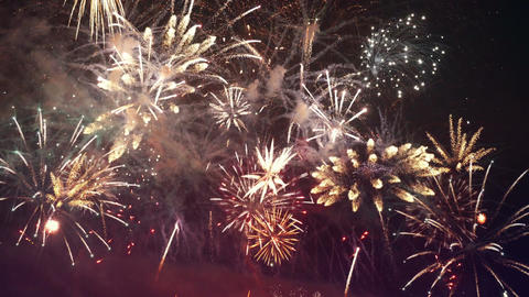 Video of fireworks in 4K Footage