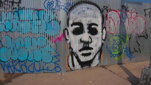 Street Graffiti New York Footage
