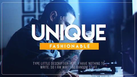 Modern & Classic Slideshow After Effects Template