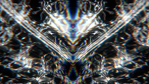 Glitch waves 29fps VJLoop LIMEART Live Action