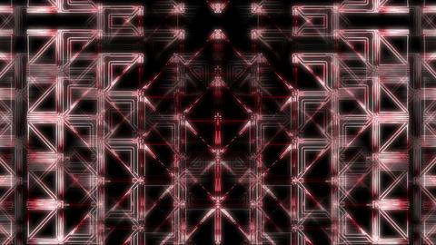 Minimal Red Side Z7 29fps VJLoop LIMEART Live Action