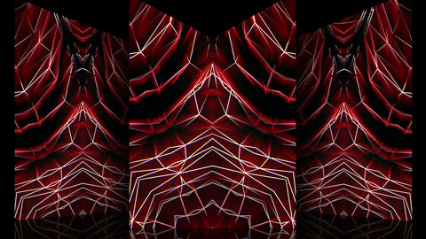 Red noise pattern 29fps VJLoop LIMEART Live Action