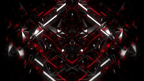 Black Mirror Red Heart 60fps VJLoop LIMEART Footage