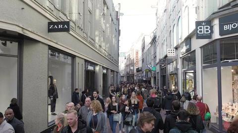 Amsterdam city street Filmmaterial