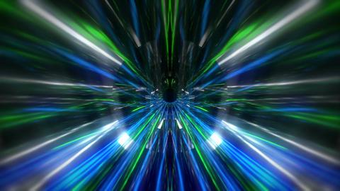 Blue Acid Tunnel 60fps VJLoop LIMEART Footage