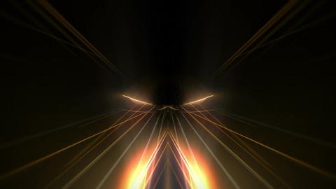 VJ Loryop 20 Tunnel TriColor 1 60fps VJLoop LIMEART Stock Video Footage