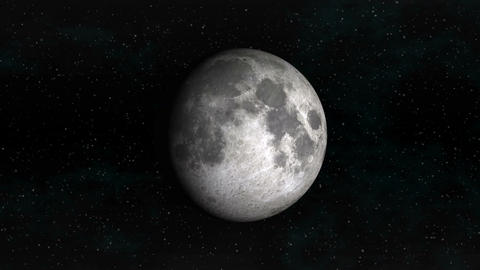 Phases of the Moon Stock Video Footage