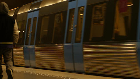 Subway in Paris of France- with sound 2016 Filmmaterial