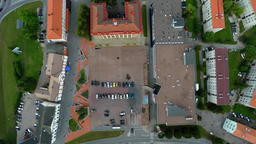 City central square. Aerial footage Footage