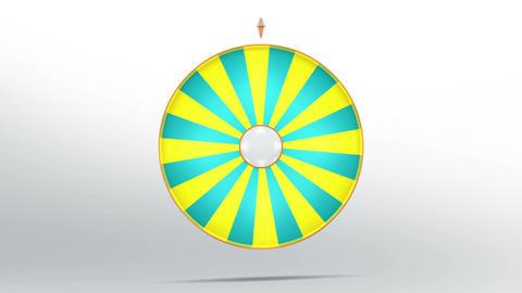 Lucky wheel fortune twenty four 4K CG動画素材