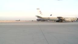 RC-135W Rivet Joint reconnaissance aircraft Footage