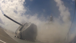 JS Kirishima launches training missile during RIMPAC 2014 Footage