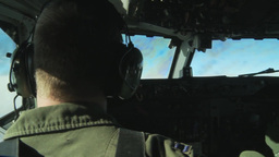 963rd Airborne Air Control Squadron Conducts Aerial Refueling Footage