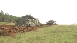 2-12 cav and 91st en conduct breaching operations Footage