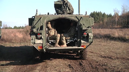 Squad Training exercises by the 2nd Cavalry Regiment in Estonia Footage