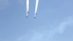 Patriots Jet Team Performs at Miramar Air Show Footage