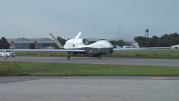 The MQ-4C Triton Unmanned Aircraft System Arrival Footage