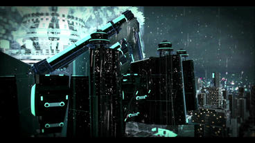 Sci-Fi City Trailer (a new version) After Effects Project