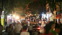 Night Street Scene 2 Footage