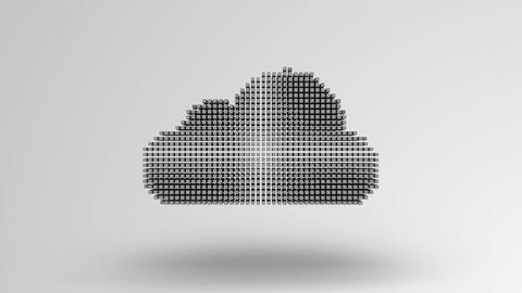 Conceptual video of cloud computing data security Live Action