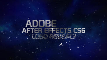Shattering titles and logo reveal Plantilla de After Effects