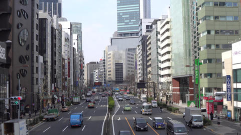 Aoyama street in Tokyo Live Action