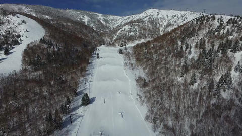 HD Drone Aerial Footage - Ski Resorts Vol 1 - Live Action
