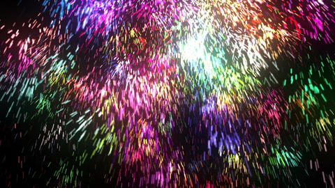 Abstract Particles Fall Animation
