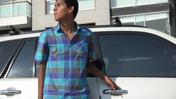 Car Burglar Or Thief Footage