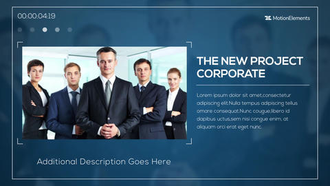 Modern Corporate Opener After Effects Template