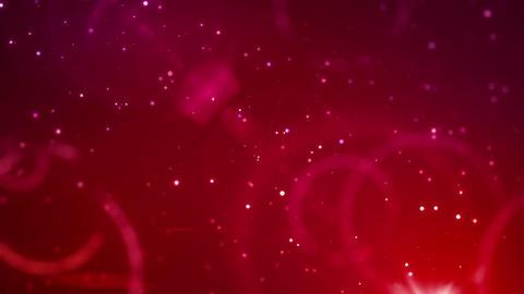 SHA Kirakira Particle BGimage Red Stock Video Footage
