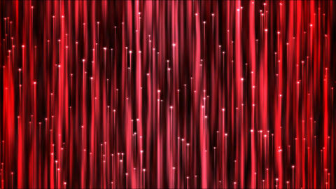 Rising Particle Beams Background Animation - Loop Red Animation