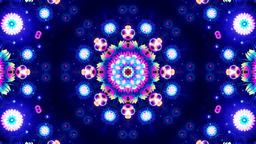 Blue Energy Kaleidoscope Animation